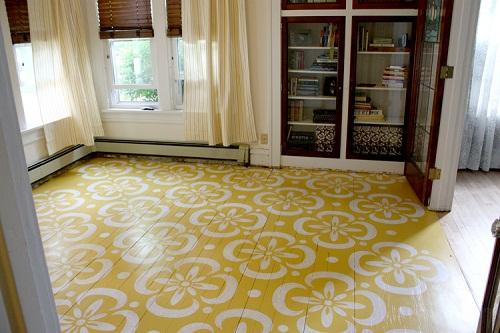 Holzfußboden Streichen ~ Die wohngalerie streichen sie ihren dielenboden ein umwerfendes