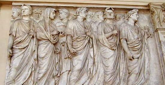 Moda y ciudadanos romanos
