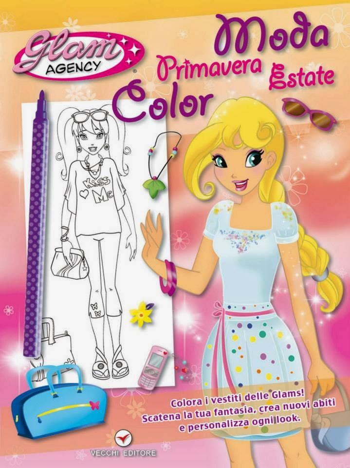 disegni di chiara colagrande karicola per GLAM AGENCY® di Vecchi Editore