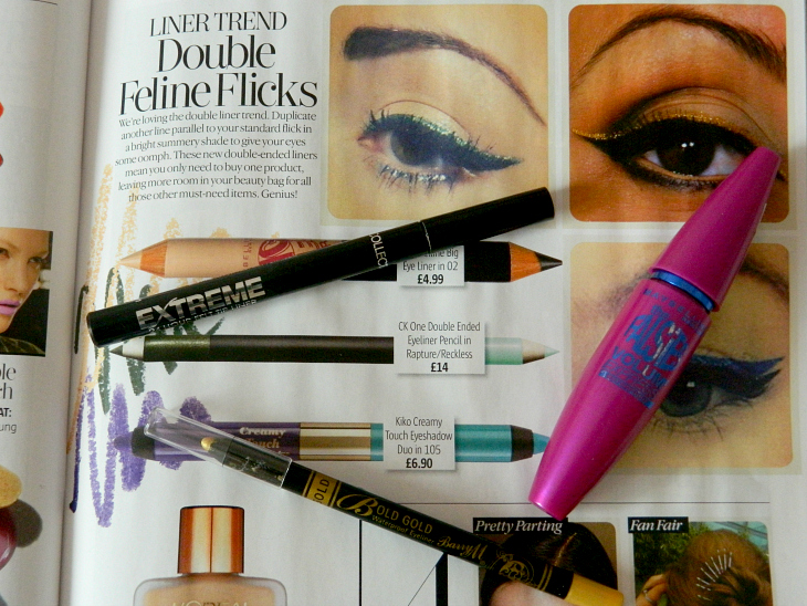 Love From Lisa Beauty Trend - Double Flick Eyeliner