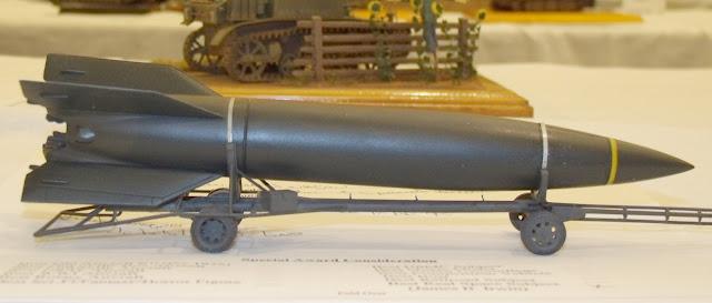 V-2 rocket model