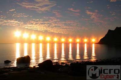 Fenomena Alam Midnight Sun