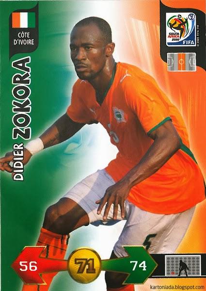 Oka Do Saszetki Panini Adrenalyn XL FIFA World Cup South Africa 2010
