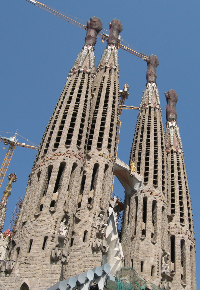 Sagrada familia barcelona spain for Familia barcelona