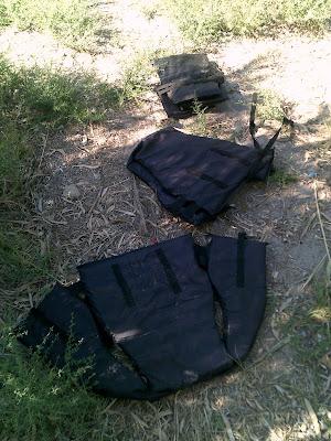 Discarded Lifejackets on Kos Beach 01