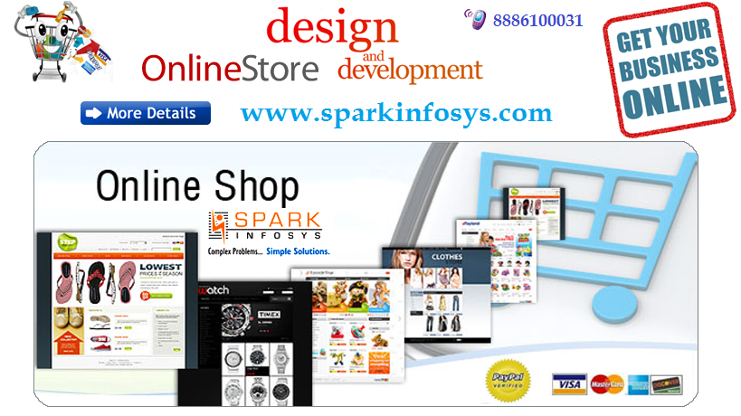 how to create ecommerce website in india