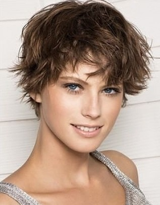 hairstyle long in front short in back. Women Short Hairstyles for