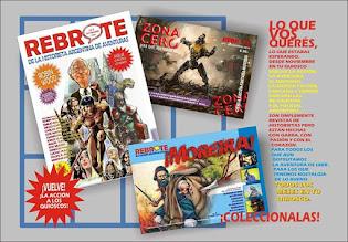 ¡Tres nuevas revistas de historietas, TRES!