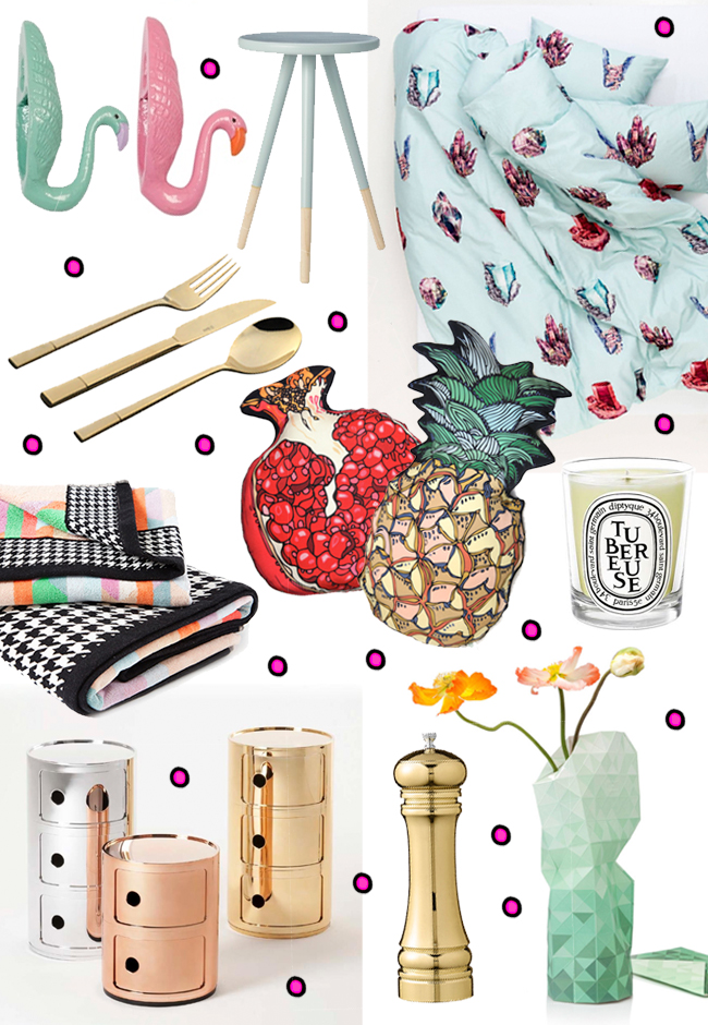 Christmas gift guide, 2015, home accessories