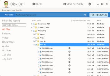 disk drill software untuk mengembalikan data yang terhapus