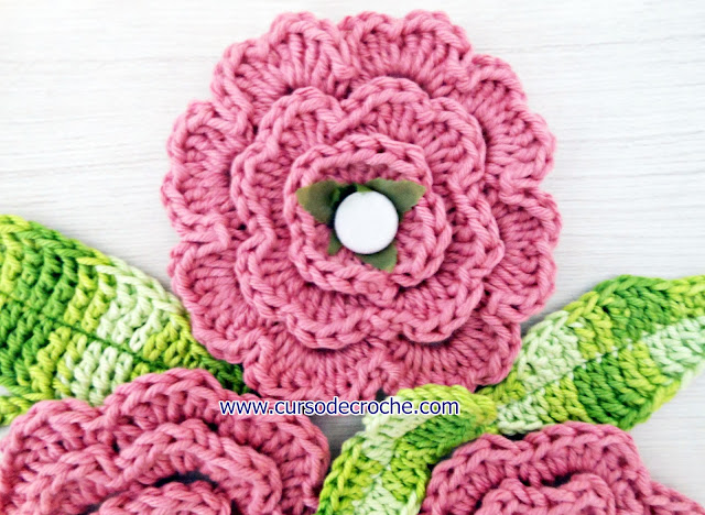 flores em croche video-aulas gratis aprender croche