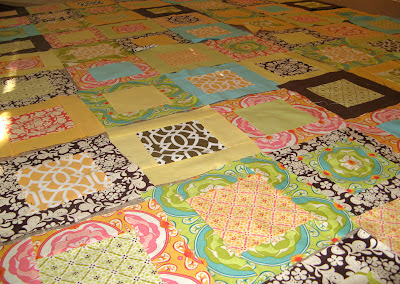 Quilt made from Meadowsweet by Sandi Henderson for Michael Miller Fabrics