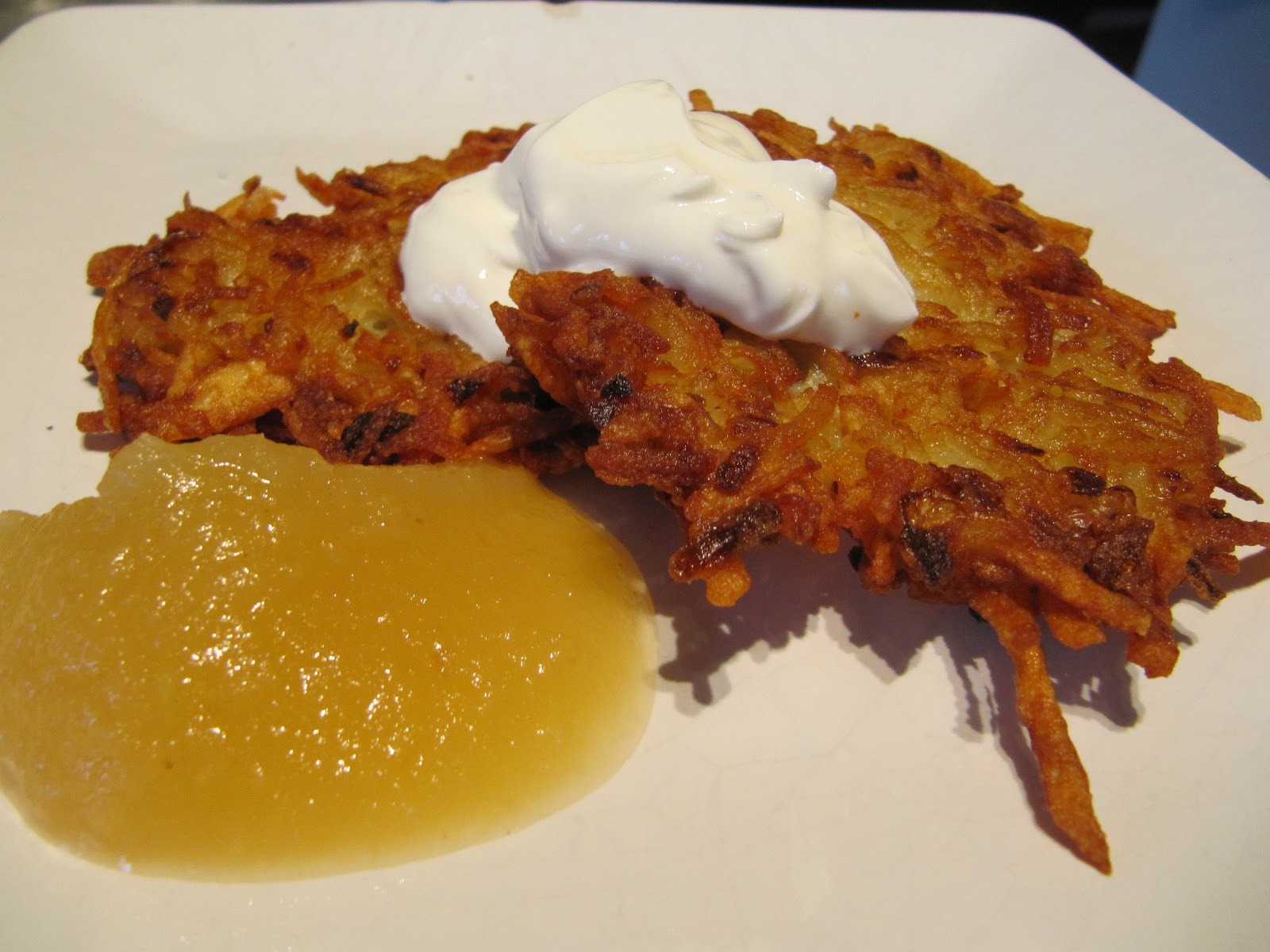 Mama Ozzy's Table: Potato Pancakes (Latkes)