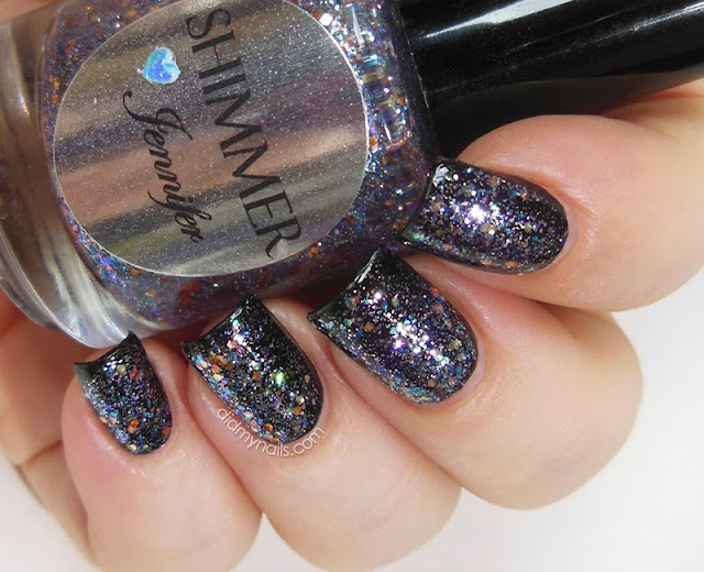 Shimmer Polish Jennifer swatch