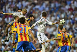 Real Madrid 2-2 Valencia,10 May 2015