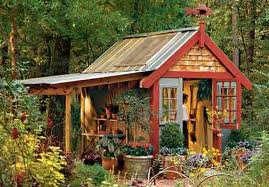 Garden Shed Styles   Five Homemade Tips