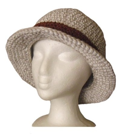 Knit and Crochet Talker *: Bucket Hat Pattern
