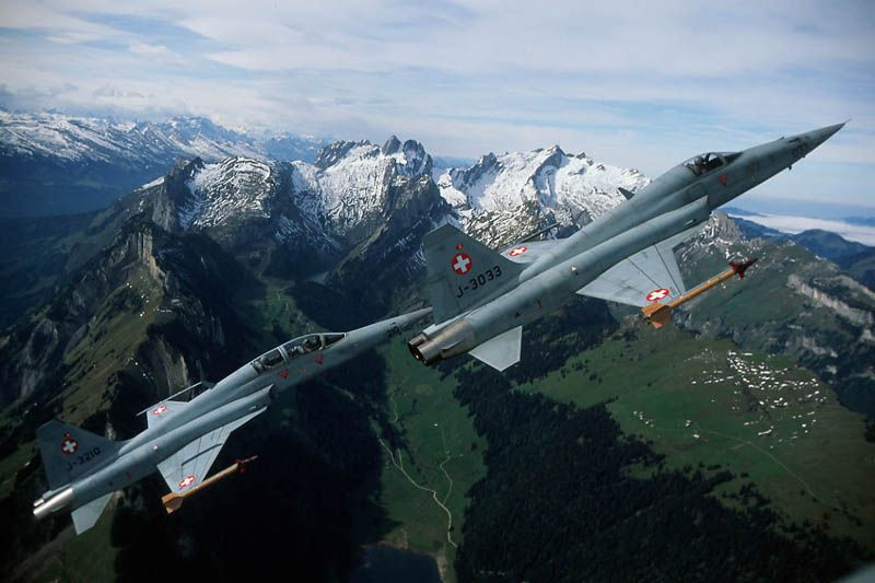 F-5 Tiger Supersonic Fighter Aircraft