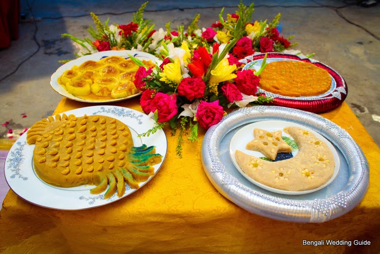 Bengali Wedding Guide Gaye Holud Food Dala Decoration Ideas