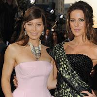 Jessica Biel y Kate Beckinsale muy sexis en Total Recall (Desafío Total)