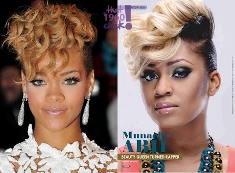 Who Rocked it Better ! Munachi Abii or Rihanna