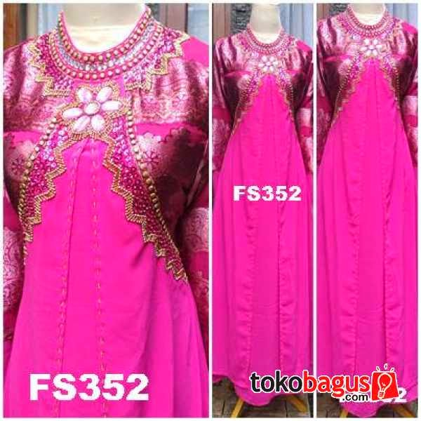 Model Baju Pesta Bahan Songket - Model Baju Pesta Terbaru
