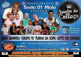 SAMBA DO COLLAÇO - NO REI DO CARANGUEJO.