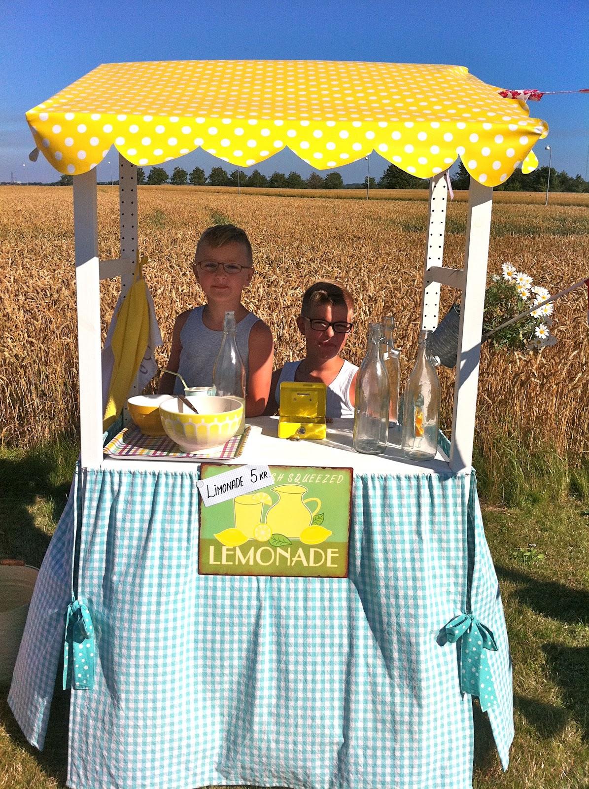 Vores limonade-bod
