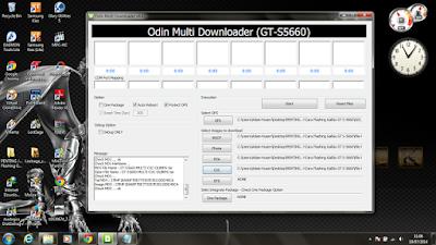 Cara Flashing/Install Ulang Samsung Galaxy Gio GT-S5660
