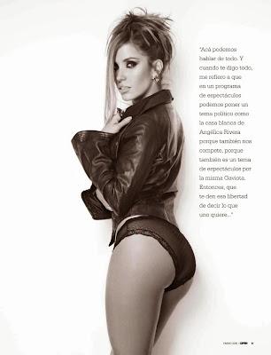 Fotos Andrea Escalona Revista Open México - Enero 2015