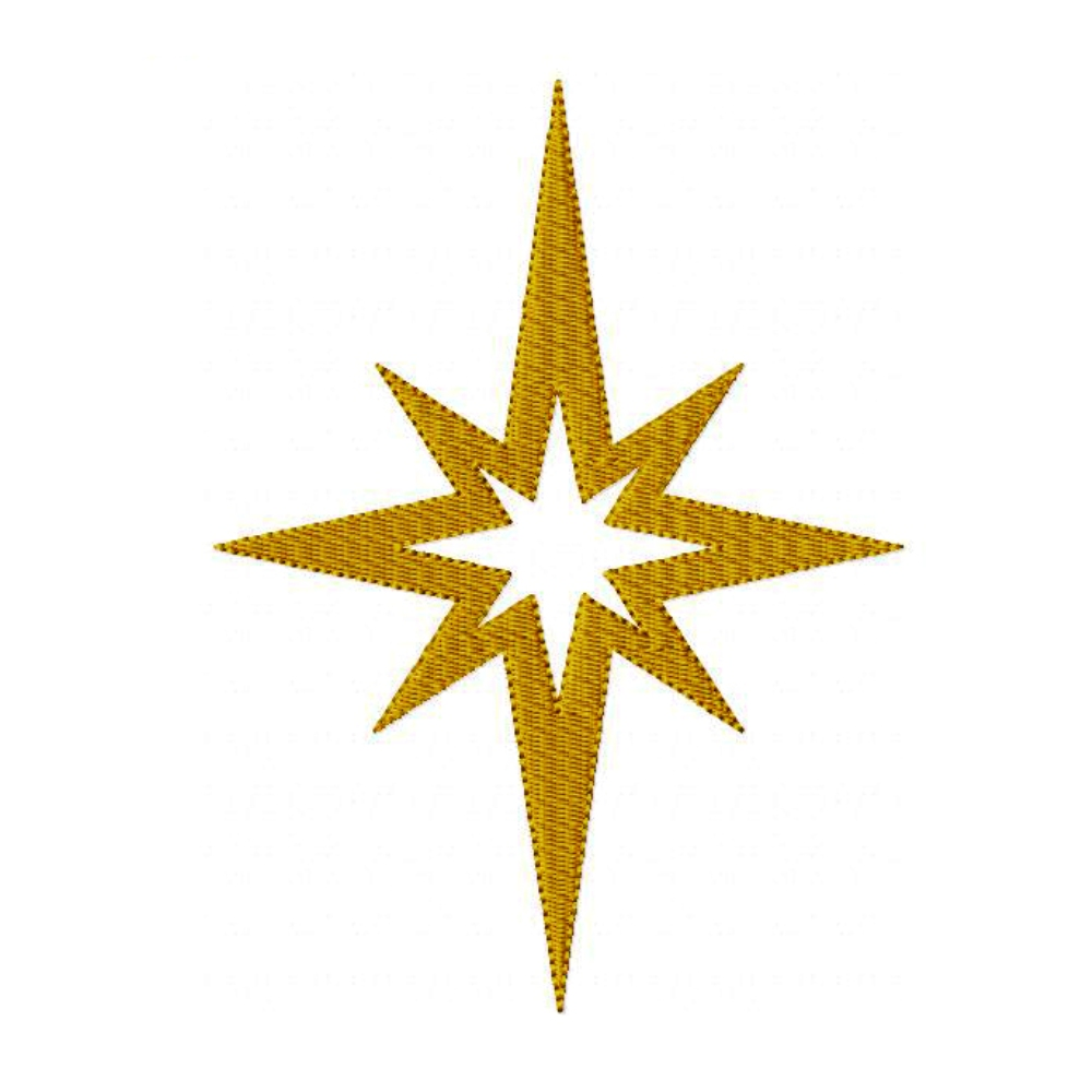 Big Dreams Embroidery Star Of Bethlehem Machine
