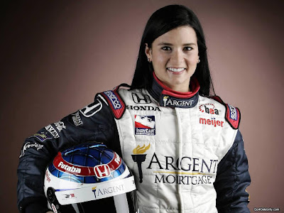 Action Auto Racing on The Celebrity Action  American Auto Racing Driver Danika Patrick