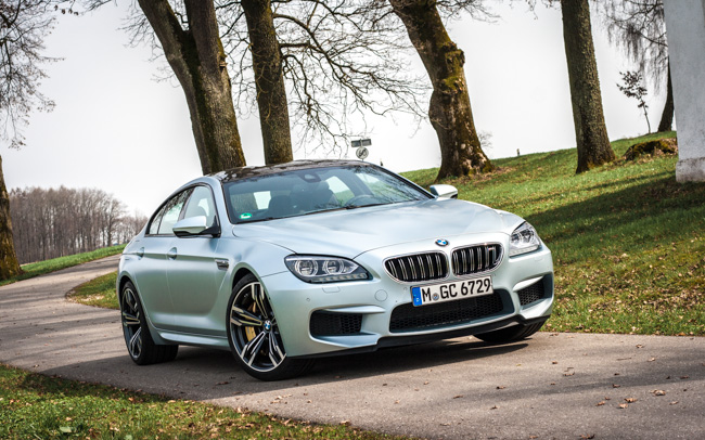 TEST DRIVE: BMW M6 Gran Coupé