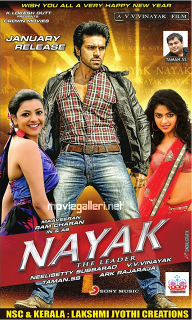 Naayak 2013 UnKut Hindi Dubbed Dual BluRay 480p 400MB ESub