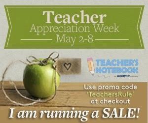 Teacher's Notebook Sale