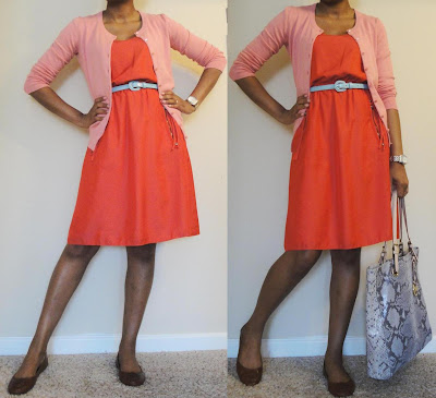 Brightly-Colored Work Outfit