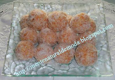receta bolitas de coco y zanahoria