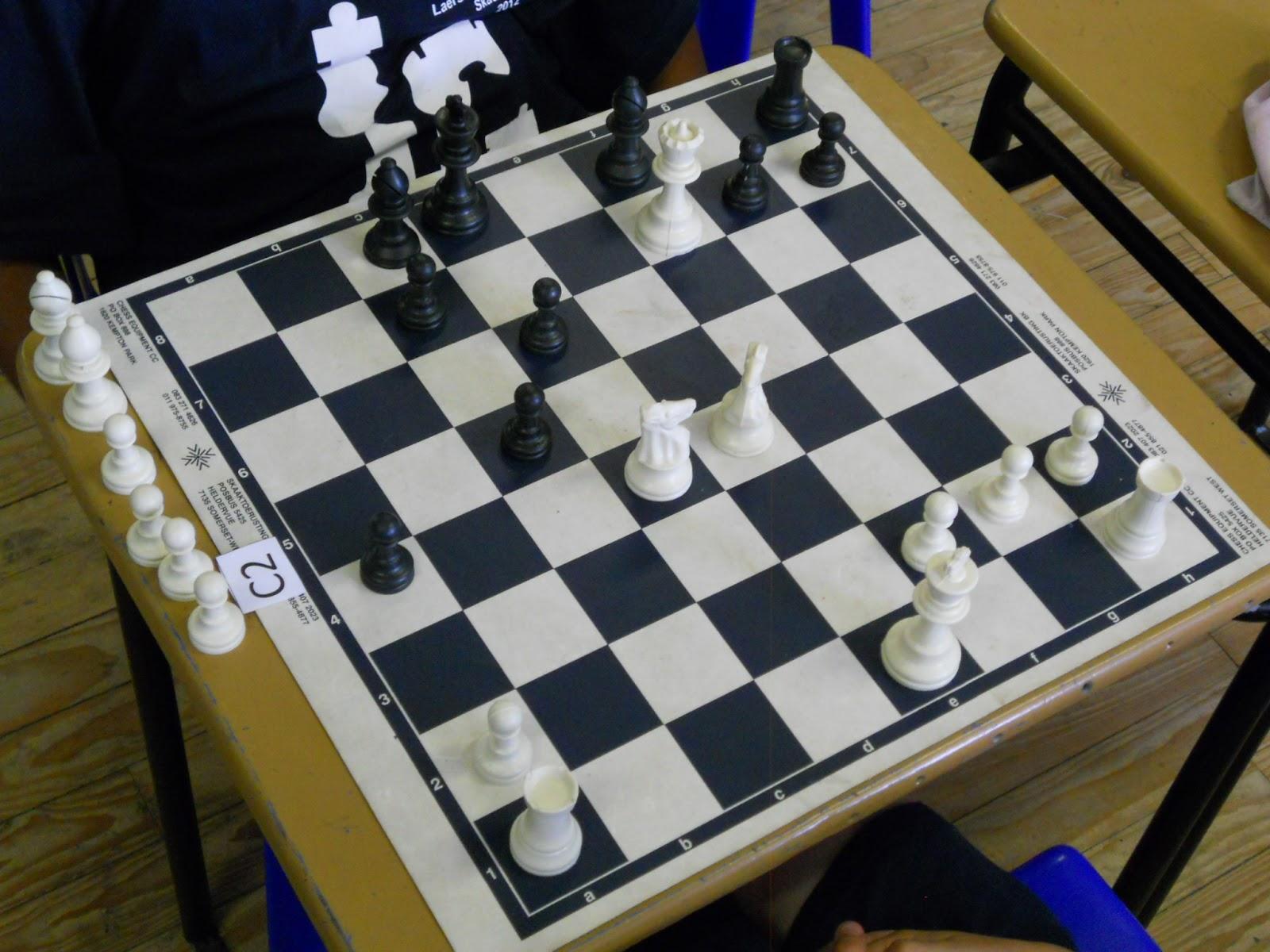 Laerskool ARISTEA Primary | Skaak - Chess: November 2012