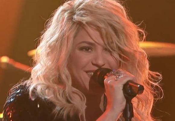 Shakira the voice 2013