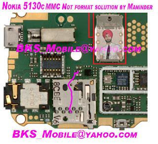 Nokia 5130c MCC not format solution