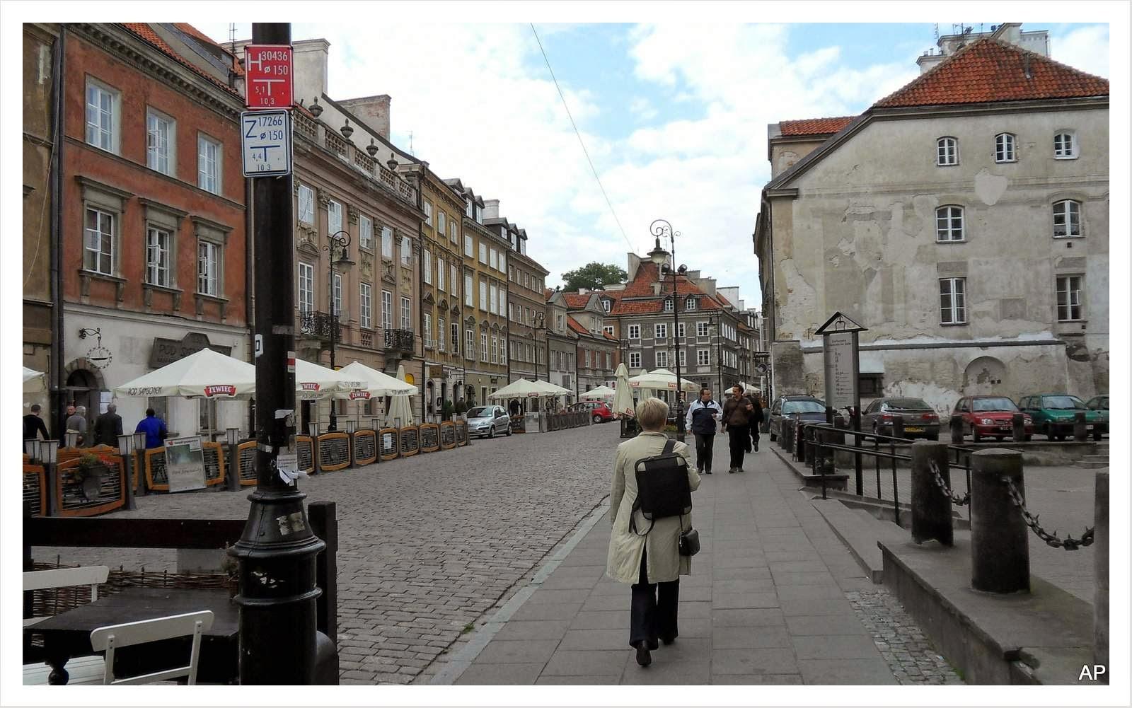 Ulica Freta die Hauptstraße der Neustadt