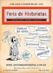 Feria de Historietas en el Café La Paz