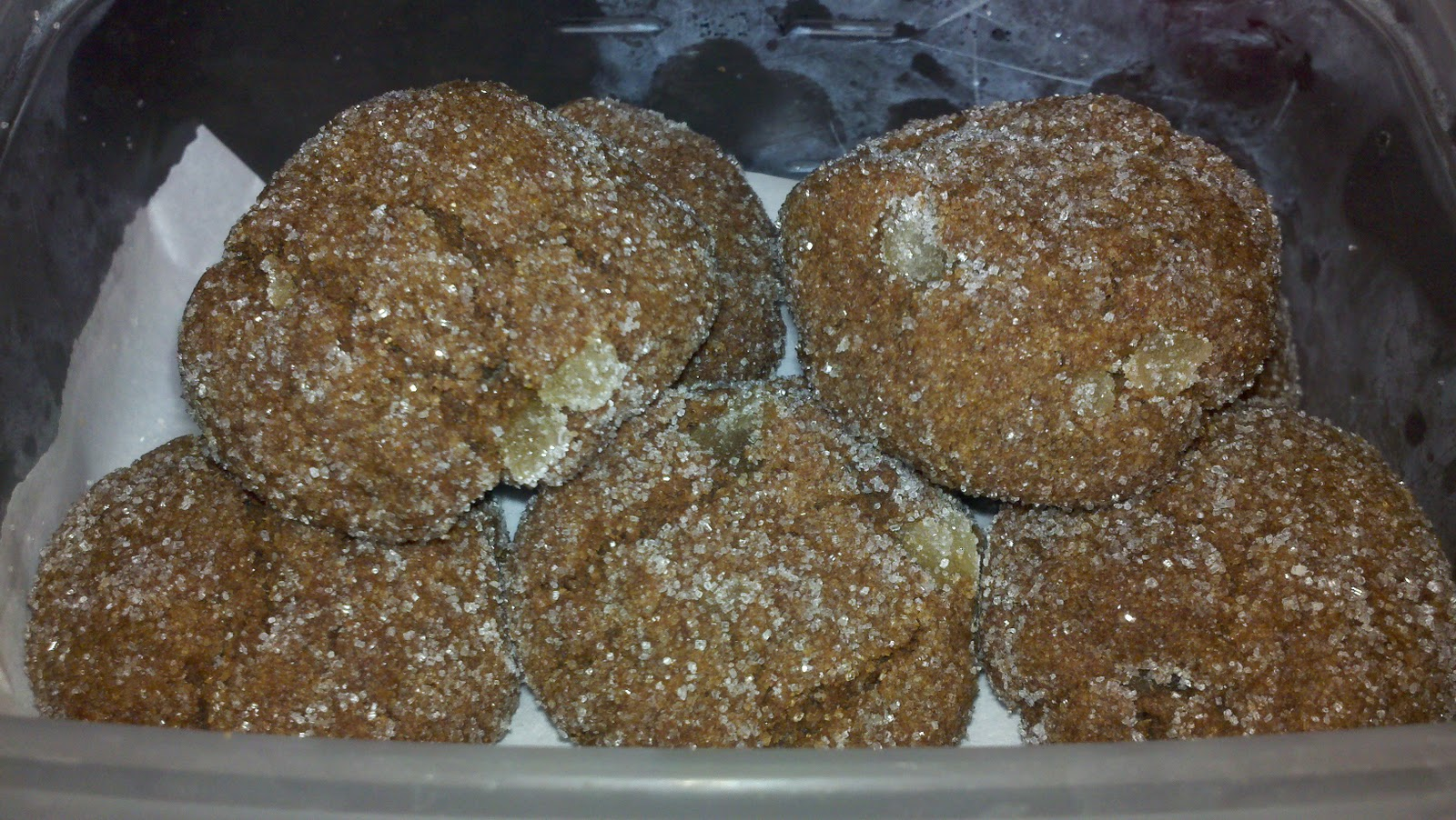 Jammin' in the Kitchen: Chewy Ginger Cookies for The Great ...