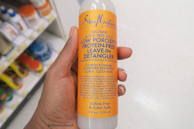New SheaMoisture Natural Hair Products for Low Porosity and High Porosity
