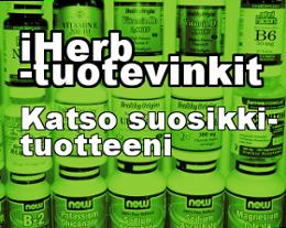 IHERB TUOTESUOSITUKSET