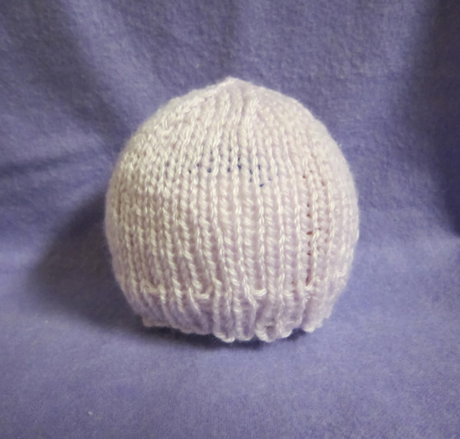 Easy Preemie Hat Knitting Pattern : Sea Trail Grandmas: PREEMIE HAT Free Knit Easy Pattern