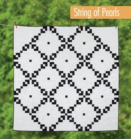 Happy Quilting: String of Pearls - BYU Style : string of pearls quilt pattern - Adamdwight.com