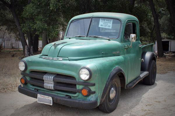 1952 Dodge Ram 1/2 Ton Pickup Truck