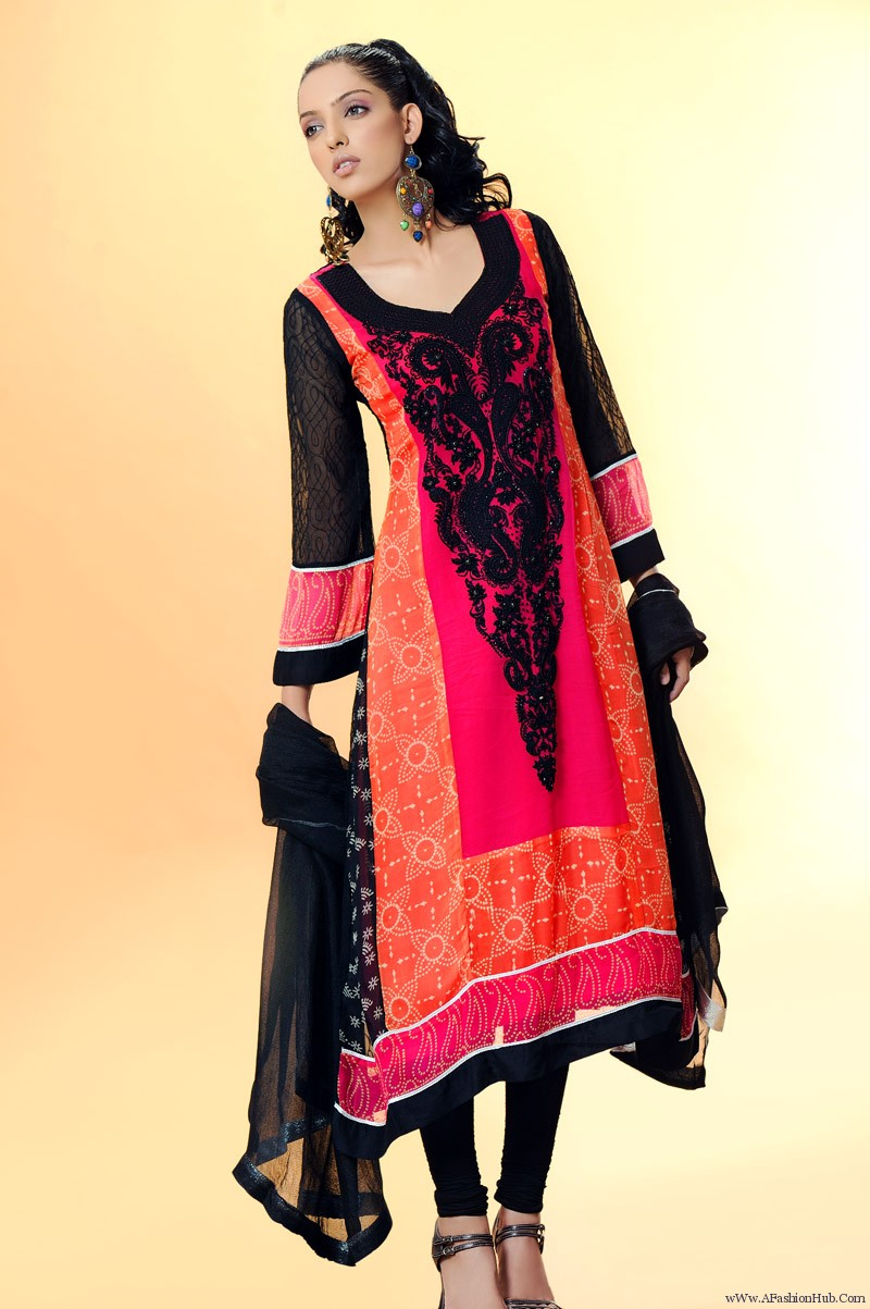 Latest Fashion Trend 2013 Girls Dress Designs Long Frocks Best Dress Designs