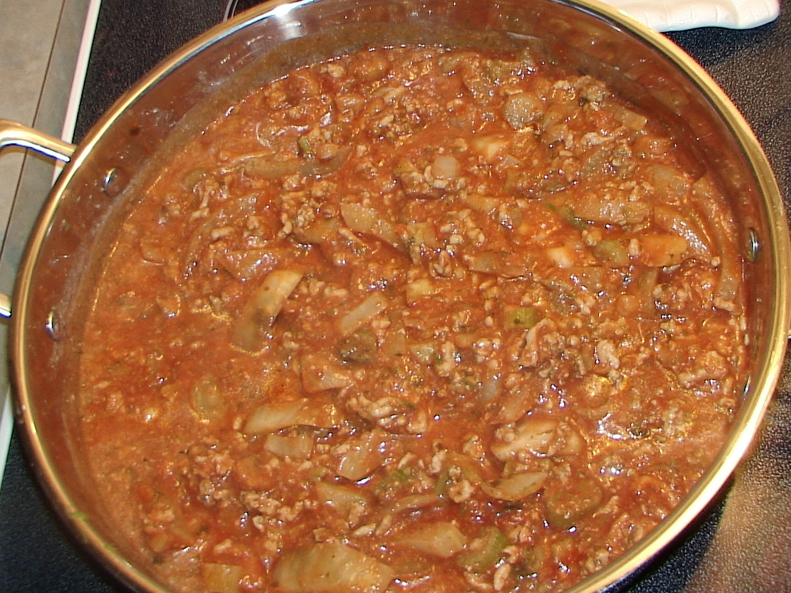 Healthy Life Lessons: Braised Fennel and Turkey Bolognese Sauce